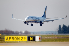 Landung Ryanair Boeing 737-800