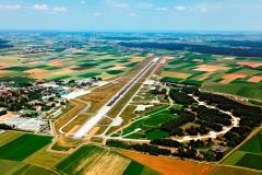 Luftaufnahme Flughafen Memmingen
