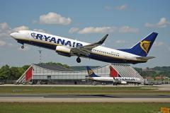 Start Boeing 737-800 mit Terminal