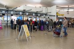Terminal Gepäckaufgabe