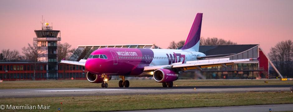 Wizz Air neue Strecken