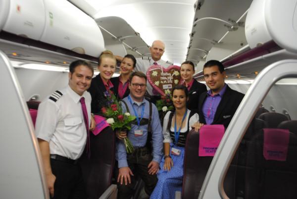 Wizz Air Erstflug Memmingen - Vilnius