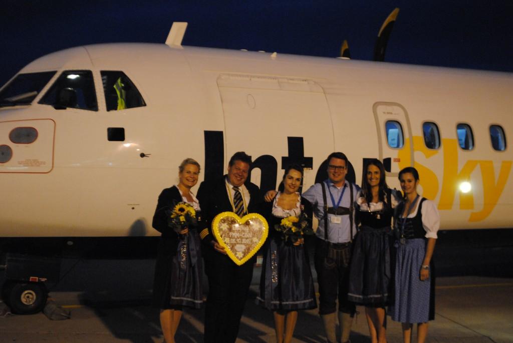 Erstflug von Memmingen nach Köln mit der InterSky