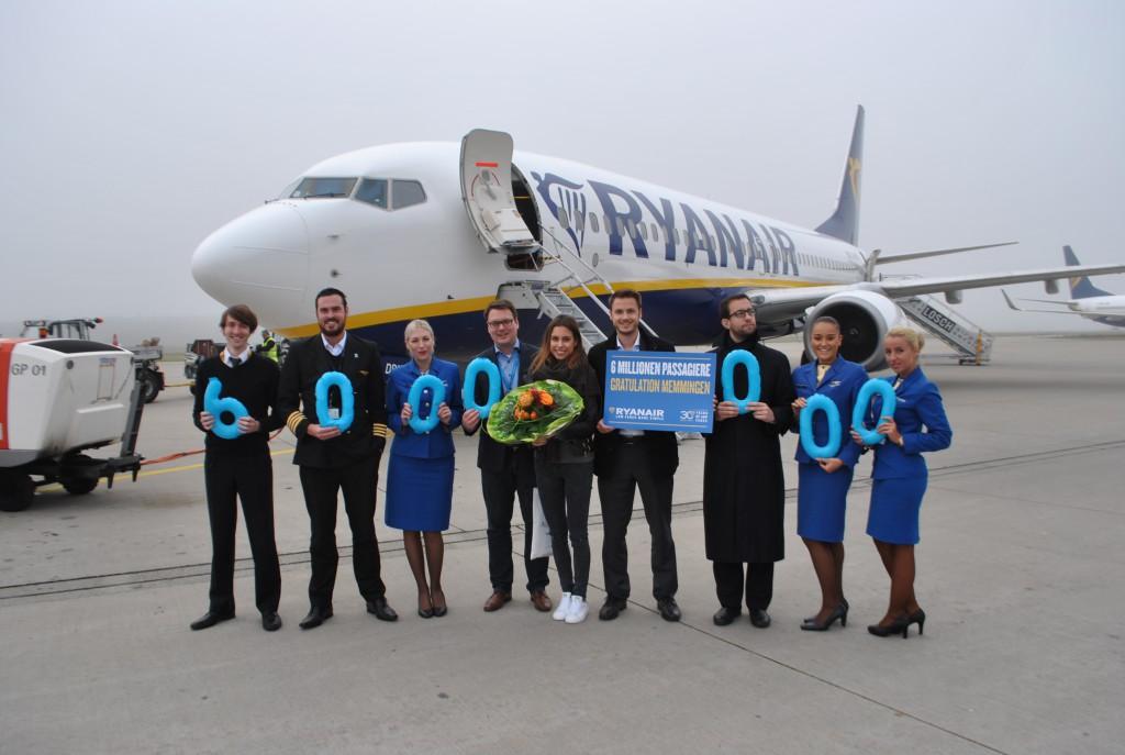 Sechs Millionen Fluggäste Allgäu Airport