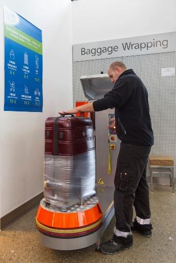 Gepäck_Baggage Wrapping