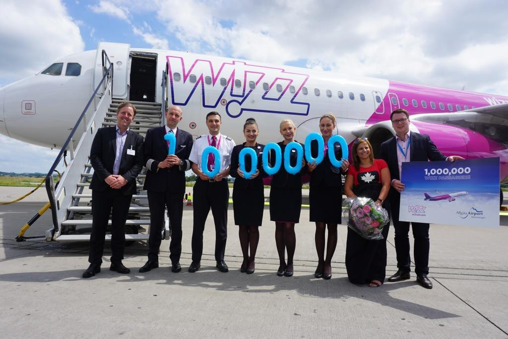 Wizz Air Meilenstein 2