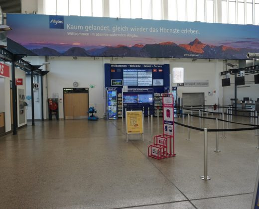 Werbefläche Terminal