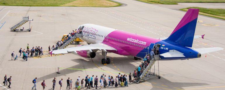 Wizz Air Vorfeld