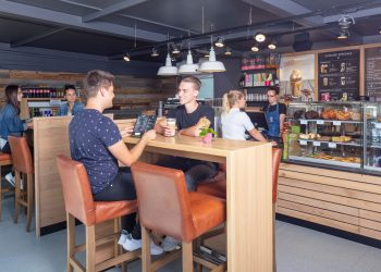 Flughafen Memmingen Coffee Fellows Express, Fotograf Stefan Gruber