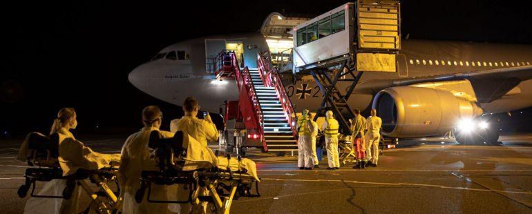 Bundeswehr landet mit A310 in Memmingen