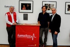 Humedica Eröffnung Vernissage Christoph Jorda